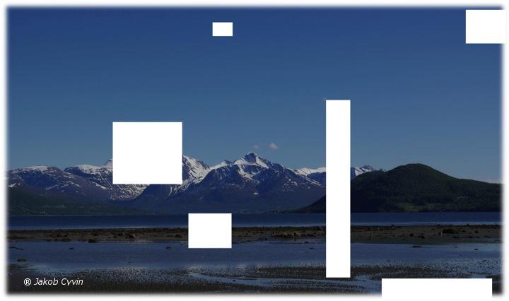 Klarer du å finne noen forslag til hva som skjuler seg i fjæra og høyt der oppe i fjellene.....?
